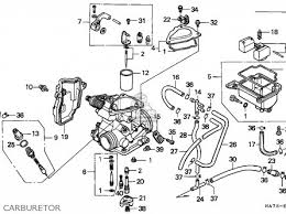 honda trx350 fourtrax 1992 n sul parts lists and schematics honda trx350 fourtrax 1992 n sul carburetor