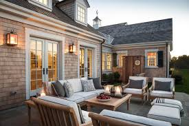 cool new england style outdoor lighting