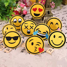 cute iron on patch iron on emoji patch diy embroidered patch fashion patch