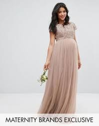 Maya Maternity Size Chart Maya Maternity Maxi Dress With Delicate Sequin And Tulle