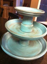terra cotta cake stand elegant diy tiered cake stand ideas for the holidays