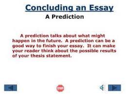 prediction conclusion essay  prediction conclusion essay