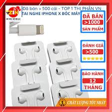 Tai nghe iphone 7 7 Plus 8 X chính hãng cổng lightning cho IP 7 8 plus X Xs  max 11 Pro Max 12 Pro Max tại Hà Nội