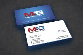 Business Cards For Mag Engineering Inc 110designs