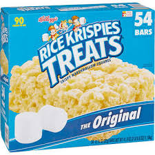 Rice Krispies Treats, The Original, 0.78 oz, 54 ct