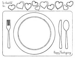 Add an easter coloring page to the printable placemat that can be decorated. Thanksgiving Printable Place Setting For Kids Dabbles Babbles