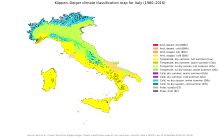 Climate Of Italy Wikipedia