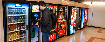 Cash Vending Machine Magnificent Cashless Vending Machines Cater For Reducing Cash Payments BioStore