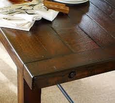 pottery barn bench style office desk rustic. Pottery Barn Bench Style Office Desk Rustic L