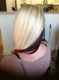 Blonde Hair Coloring With Red Hair