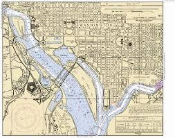 Potomac River Depth Chart 71 Paradigmatic Noaa Chart Washington