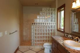 Contemporary Small Bathroom Ideas With Walk In Shower A Throughout