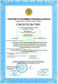 Дипломы и сертификаты Свидетельство о государственной регистрации юридического лица · Государственная лицензия