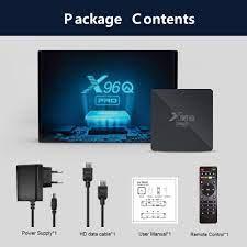 X96Q PRO Android 10.0 TV BOX Allwinner H313 2.4G 5G Wifi 4K 2GB 16GB Media  Player X96 Q 1GB 8GB Set Top Box - Super Deal #EE760