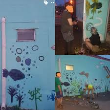 why pay an artist when you can diy just as good outside walls of an aquarium shop  on diy wall art reddit with why pay an artist when you can diy just as good outside walls of