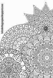 Small Picture Free Nature Mandala Coloring Pages Coloring Pages