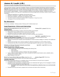 8 Law School Resume Template Writing A Memo