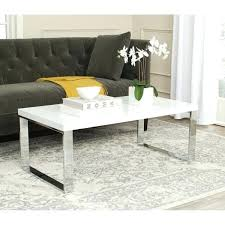 safavieh coffee table white chrome coffee table safavieh coffee table uk