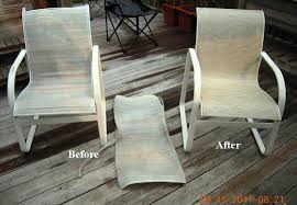 woodard patio furniture replacement slings in new jersey with wavey lines champagne outdoor fabric