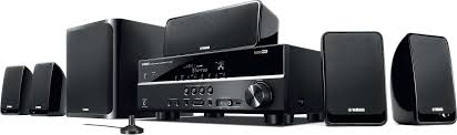 yamaha home theater speakers. yamaha yht-299 home theater receiver and speaker package 110 - 220 240 volts speakers a