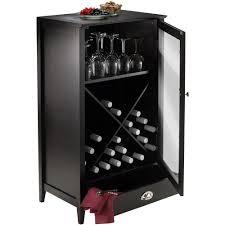winsome wood bordeaux 24bottle modular wine cabinet espresso finish walmartcom black wine cabinet o28