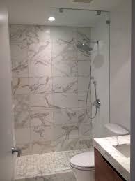 frameless shower glass doors installation