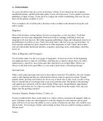 Photography Cover Letter For Resume Letters Examples Warehouse