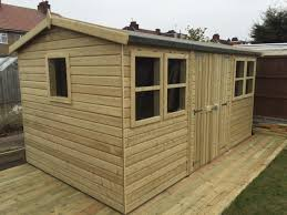 all are ideal to prevent water collecting around the shed base and damaging the wooden structure of your shed building