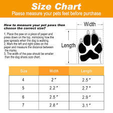Bingpet Dog Boots Waterproof Shoes For Medium To Large Dogs Anti Slip Paw Protectors With Adjustable Reflective Straps 4 Pcs