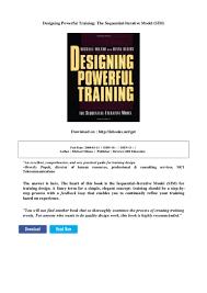 Iterative Model Design Designing Powerful Training The Sequential Iterative Model Sim