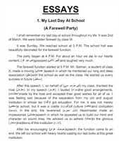 sample thesis on computer science essays on eating properly henry an unforgettable memory of my school days essay smak produktion essay on first day at school