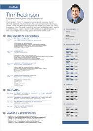 Resume Template Resume Template Doc Best Sample Resume Template