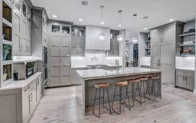 gray kitchen cabinets design ideas