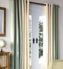door curtain ideas best sliding patio curtains design amp decors front glass