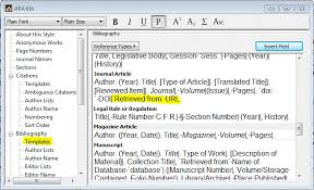 Apa 6 Reference List Endnote Community