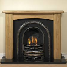 oak angus fireplace