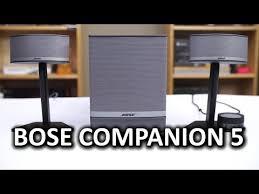 bose pc speakers. bose companion 5 desktop pc speakers pc