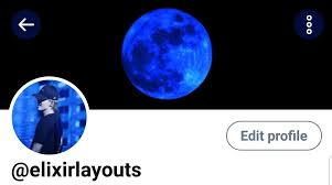 Layouts Blue