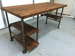 rustic desk home office. Reclaimed Wood Office Desk Computer Table Rustic  By Renate And . Home O