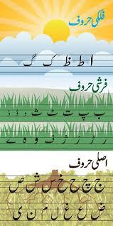 Urdu Grammar Charts Huroof Chart Urdu Worksheets For Playgroup Alphabet
