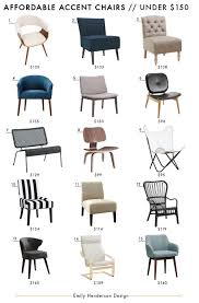 Affordable Accent Chair Roundup - Emily Henderson