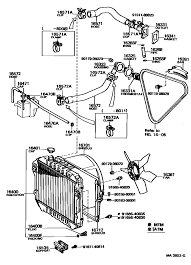1994 Toyota Pickup Parts Diagram