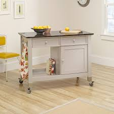 Furniture Kitchen Island Original Cottage Mobile Kitchen Island Cart 414405 Sauder