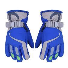 AONIJIE <b>Children's Ski</b> Gloves Waterproof Windproof Warm Lining ...
