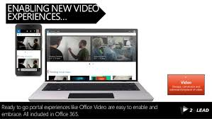 36 enabling new video experiences build office video