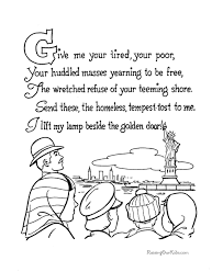 Small Picture Patriotic Coloring Page 005