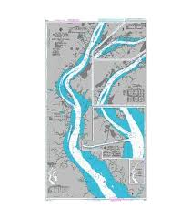 British Admiralty Nautical Chart 2603 Delaware River Delaware Point To Little Tinicum Island