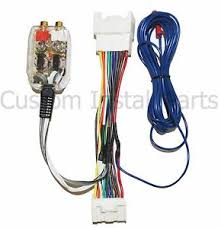 factory radio add a amp amplifier sub interface wire harness image is loading factory radio add a amp amplifier sub interface