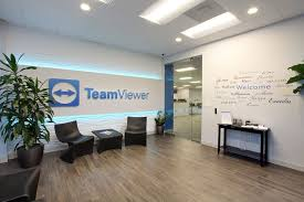 office lobby. US Office Lobby - TeamViewer Clearwater, FL