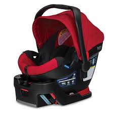 britax b safe 35 infant car seat red